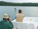 Fotografieren vom Elektroboot